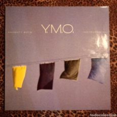 Discos de vinilo: YELLOW MAGIC ORCHESTRA - NAUGHTY BOYS INSTRUMENTAL. - CONTIENE FUNDA INTERIOR. Lote 195053442