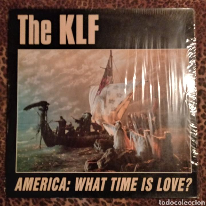 THE KLF - AMRICA (Música - Discos de Vinilo - Maxi Singles - Pop - Rock - New Wave Internacional de los 80)