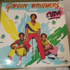 Discos de vinilo: GIBSON BROTHERS - CUBA. Lote 195055981