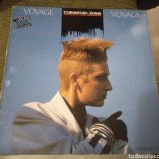 Discos de vinilo: DESIRELESS - VOYAGE VOYAGE. Lote 195056485