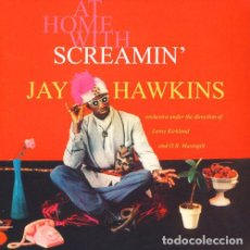 Discos de vinilo: SCREAMIN' JAY HAWKINS AT HOME WITH LP . RHYTHM AND BLUES LITTLE RICHARD VOODO. Lote 195057523