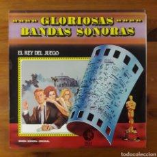 Discos de vinilo: EL REY DEL JUEGO (THE CINCINNATI KID) LALO SCHIFRIN. Lote 195058741