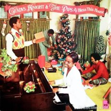 Discos de vinilo: GLADYS KNIGHT & THE PIPS BLESS THIS HOUSE LP . GOSPEL CHRISTMAS SOUL ARETH. Lote 195058863