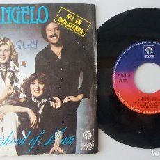 Discos de vinilo: BROTHERHOOD OF MAN / ANGELO / SINGLE 7 INCH. Lote 195059310
