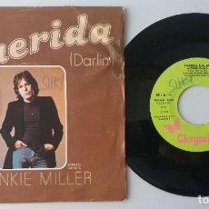 Discos de vinilo: FRANKIE MILLER / QUERIDA / SINGLE 7 INCH. Lote 195059315