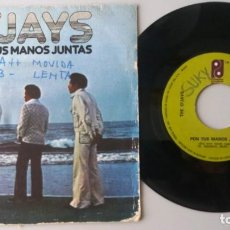 Discos de vinilo: O'JAYS / PON TUS MANOS JUNTAS / SINGLE 7 INCH. Lote 195059381