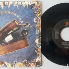 Discos de vinilo: WORLD PARTY / MESSAGE IN THE BOX / SINGLE 7 INCH. Lote 195059428