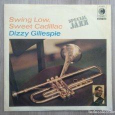 Discos de vinilo: MUSICA, DISCO VINILO LP´S, LP - ESPECIAL JAZZ, DIZZY GUILLESPIE, SWING LOVE SWEET CADILLAC . Lote 195061012
