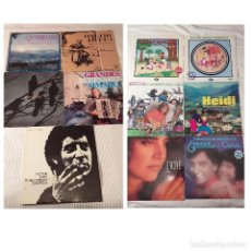 Discos de vinilo: LOTE 11 DISCOS ANTIGUOS LPS VARIADOS MUSICA ESPAÑOLA, ROCK, POP, INFANTIL… TODOS EN FOTOS. Lote 195060127