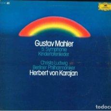 Discos de vinilo: GUSTAV MAHLER. Lote 195062456