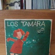 Discos de vinilo: LOS TAMARA JUANITA BANANA / EL ETERNO VIAJERO. Lote 195064266