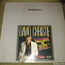 Discos de vinilo: DAVID CHRISTIE - RALLY DOWN TO SALLY'S. Lote 195065368