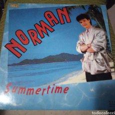 Discos de vinilo: NORMAN - SUMMERTIME. Lote 195065698