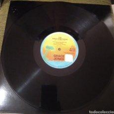Discos de vinilo: GRACE JONES - THE APPLE STRETCHING. Lote 195065891