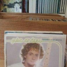 Discos de vinilo: JULIO ANDREU CARAMELO DE MENTA / YA NO MÁS. Lote 195066290