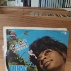 Discos de vinilo: DONNA HIGTOWER IF YOU HOLD MY HAND / I MADE MY BED. Lote 195067320