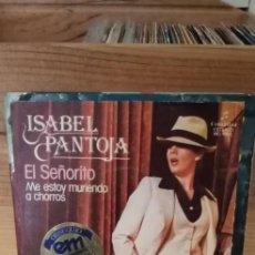 Discos de vinilo: ISABEL PANTOJA EL SEÑORITO. Lote 195069573