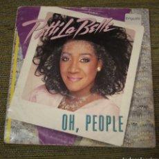 Discos de vinilo: PATTI LABELLE - OH, PEOPLE. Lote 195069716