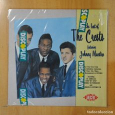 Discos de vinilo: THE CRESTS - THE BEST OF THE CRESTS FEATURING JOHNNY MAESTRO - LP. Lote 195070615