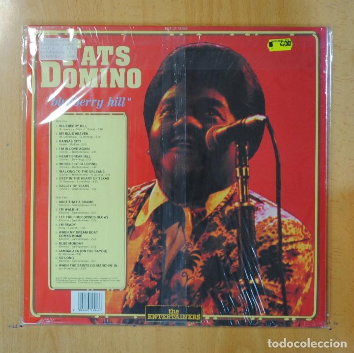 Discos de vinilo: FATS DOMINO - BLUEBERRY HILL - LP - Foto 2 - 195070635