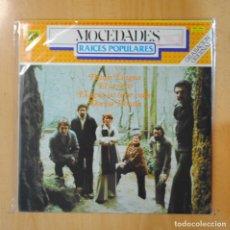 Discos de vinilo: MOCEDADES - RAICES POPULARES - LP. Lote 195071241