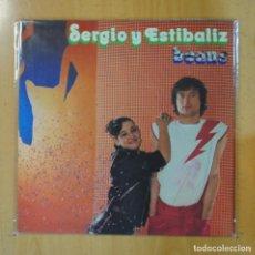 Discos de vinilo: SERGIO Y ESTIBALIZ - BEANS - GATEFOLD - LP. Lote 195071277