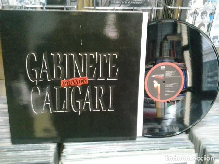 LMV - GABINETE CALIGARI. PRIVADO. 1989, REF. EMI – 076 793356-1 (Música - Discos - LP Vinilo - Grupos Españoles de los 70 y 80)