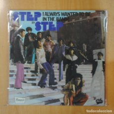Discos de vinilo: STEP BY STEP - I ALWAYS WANTED TO BE IN THE BAND! - LP. Lote 195071423