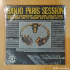 Discos de vinilo: VARIOS - BANJO PARIS SESSION - GATEFOLD - 2 LP. Lote 195071595