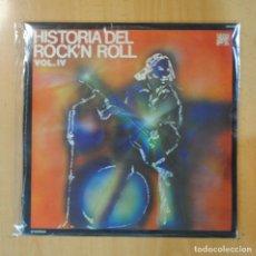 Discos de vinilo: VARIOS - HISTORIA DEL ROCK N ROLL VOL. IV - LP. Lote 195071611