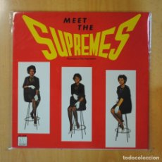 Discos de vinilo: THE SUPREMES - MEET THE SUPREMES - LP. Lote 195071663