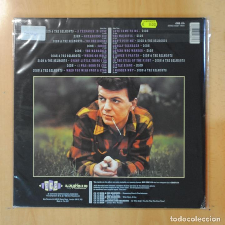Discos de vinilo: DION AND THE BELMONTS - DION AND THE BELMONTS HITS - GATEFOLD - LP - Foto 2 - 195071683