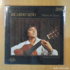 Discos de vinilo: RICARDO MIÑO - PUERTA DE TRIANA - GATEFOLD - LP. Lote 195071703