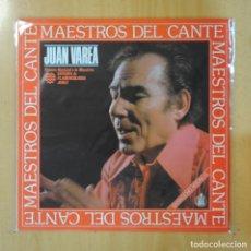 Discos de vinilo: JUAN VAREA - MAESTROS DEL CANTE - LP. Lote 195071743