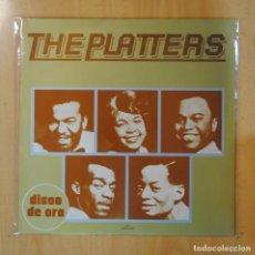Discos de vinilo: THE PLATTERS - DISCO DE ORO - LP. Lote 195072068