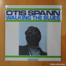 Discos de vinilo: OTIS SPANN - WALKING THE BLUES - LP. Lote 195072123