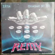 Discos de vinilo: REMY - ZÊTA / QUASAR 3C 273 45 RPM, SINGLE, BLUE PAPER LABEL 1981 ELECTRONIC . Lote 195072176
