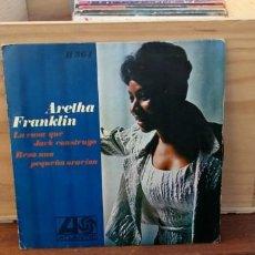 Discos de vinilo: ARETHA FRANKLIN THE HOUSE THAT JAC BUILT. Lote 195073446