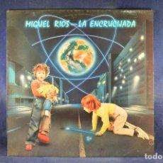 Discos de vinilo: MIGUEL RÍOS - LA ENCRUCIJADA - LP. Lote 195074207