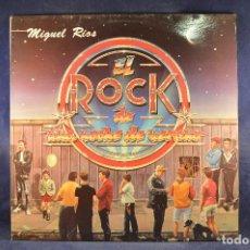 Discos de vinilo: MIGUEL RIOS - ROCK DE UNA NOCHE DE VERANO - LP. Lote 195074566