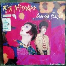 Discos de vinilo: RITA MITSOUKO - MARCIA BAÏLA 45 RPM, SINGLE 1984 ELECTRONIC SYNTH-POP. Lote 195074633