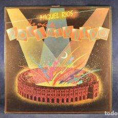 Discos de vinilo: MIGUEL RIOS - LO MAS ROCK EN EL RUEDO - LP. Lote 195074997