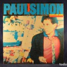 Discos de vinilo: PAUL SIMON - HEARTS AND BONES - LP. Lote 195075321