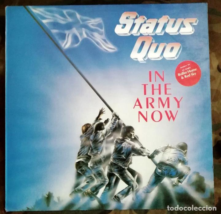 STATUS QUO - IN THE ARMY NOW LP, ALBUM 1986 ROCK & ROLL, POP ROCK (Música - Discos - LP Vinilo - Rock & Roll)