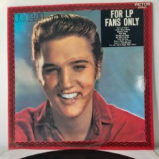 Discos de vinilo: ELVIS PRESLEY FOR LP FANS ONLY. RCA. 1987. SPAIN. Lote 195076060