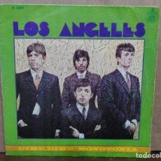 Discos de vinilo: LOS ANGELES - DIME, DIME / MONOTONÍA - SINGLE DEL SELLO HISPAVOX 1968. Lote 195076412