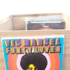 Discos de vinilo: VIC MARCELL FUNKY LOVER LONE STRANGER DISCO PROMOCIONAL. Lote 195076653