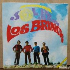 Discos de vinilo: LOS BRINCOS - SOL EN JULIO / ANANAI - SINGLE DEL SELLO NOVOLA 1968. Lote 195076712