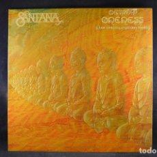 Discos de vinilo: SANATANA - ONENESS - LP. Lote 195077216