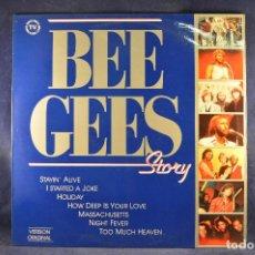 Discos de vinilo: BEE GEES - STORY - LP. Lote 195078506